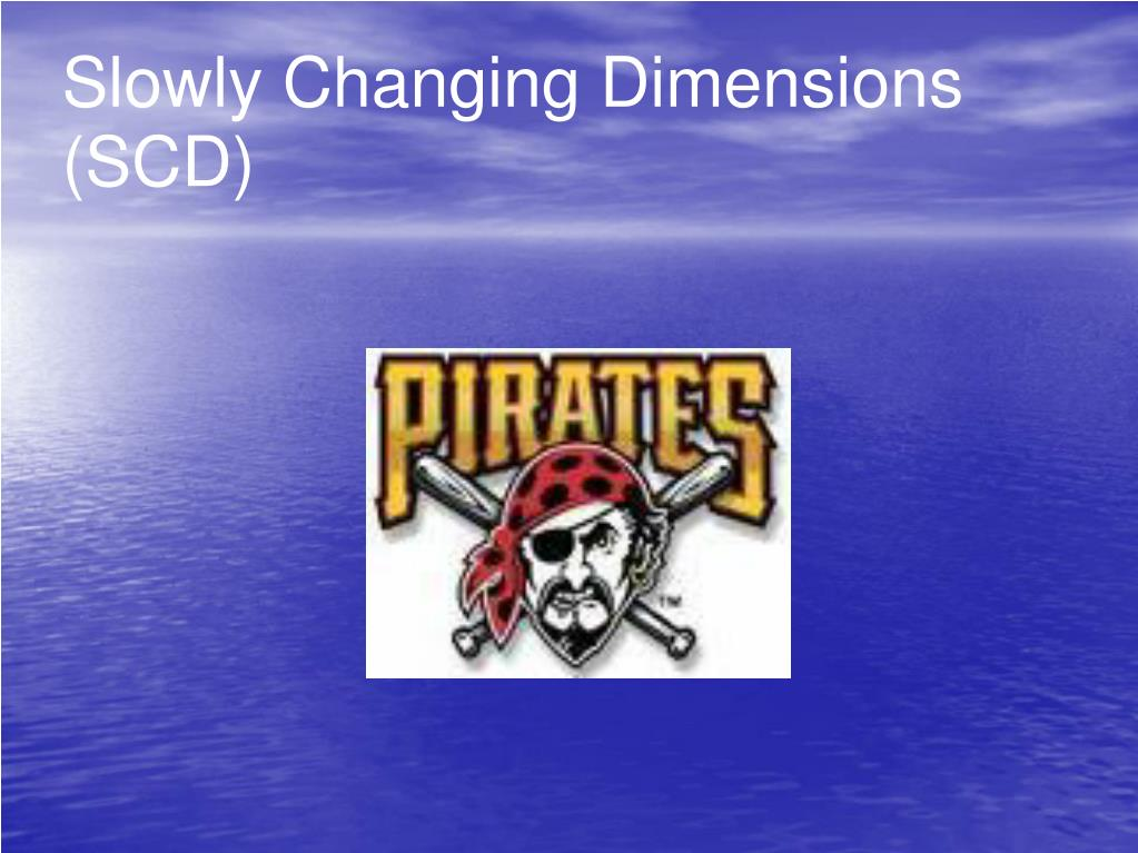 Slowly Changing Dimensions (SCD)