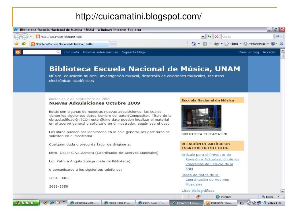 http://cuicamatini.blogspot.com/