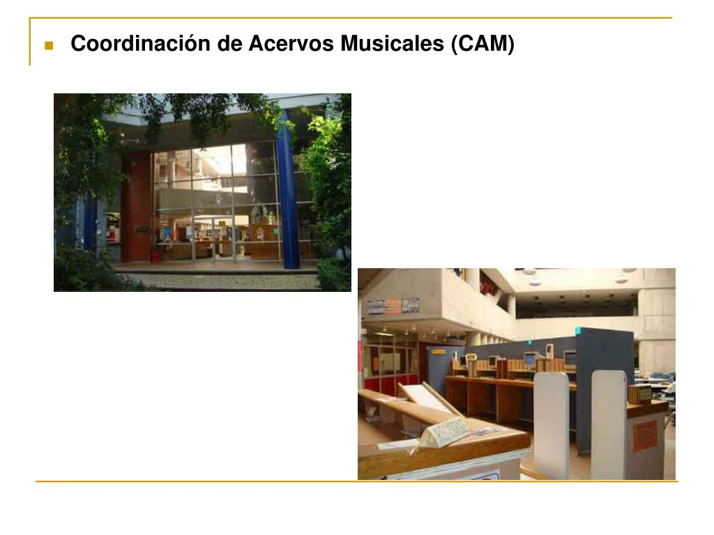 Coordinación de Acervos Musicales (CAM)