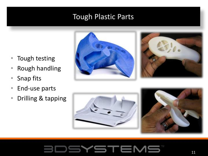 Tough Plastic Parts