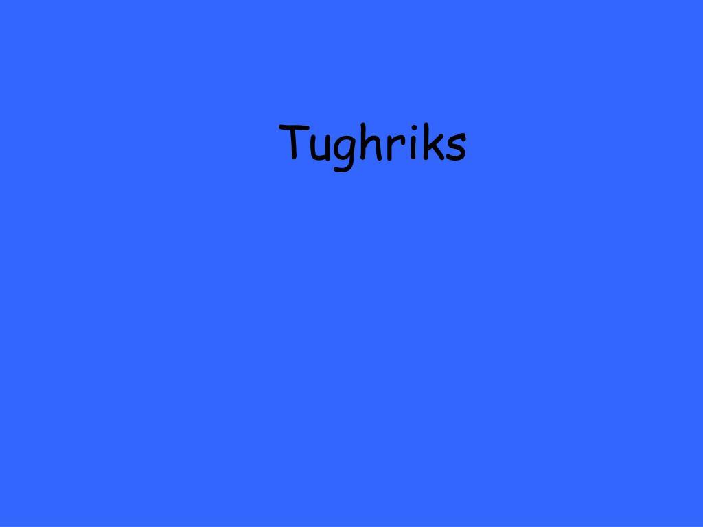 Tughriks