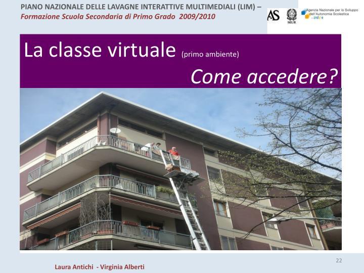La classe virtuale