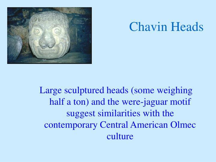 Chavin Heads