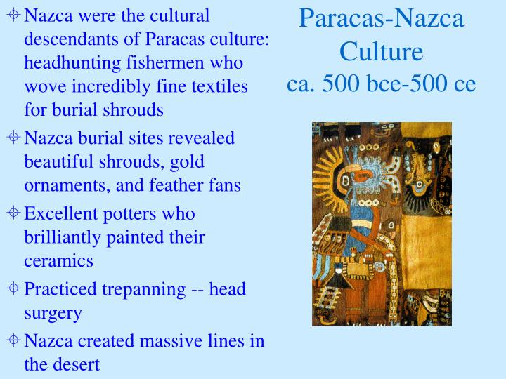 Paracas-Nazca Culture