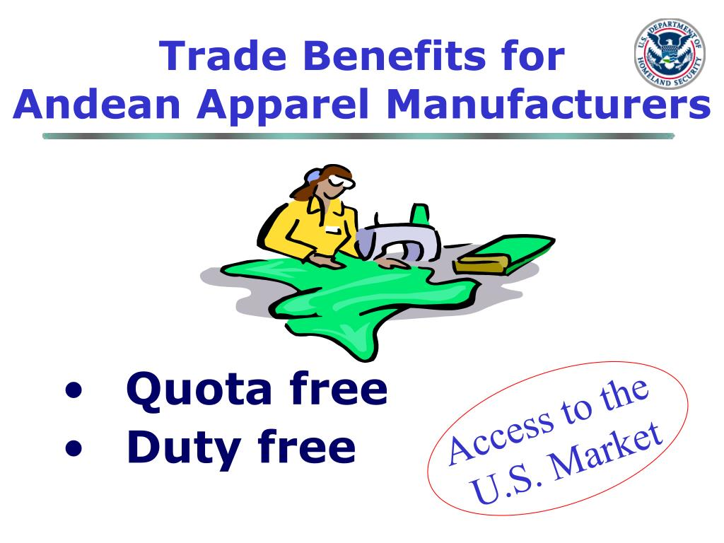 Trade Benefits for