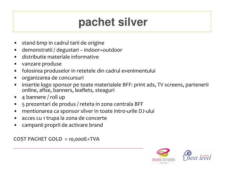 pachet silver