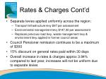 rates charges cont d