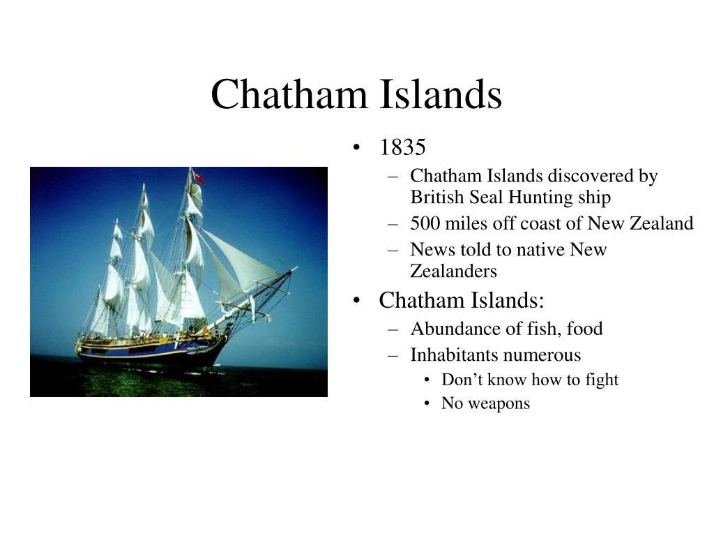 Chatham Islands