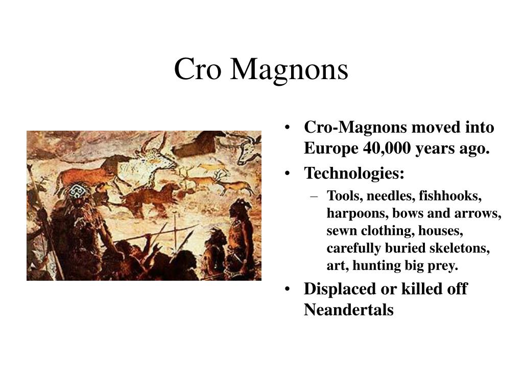 Cro Magnons