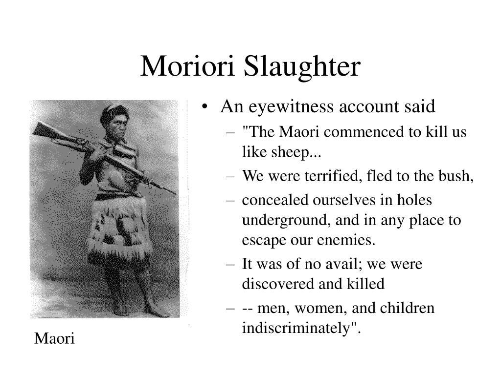 Moriori Slaughter