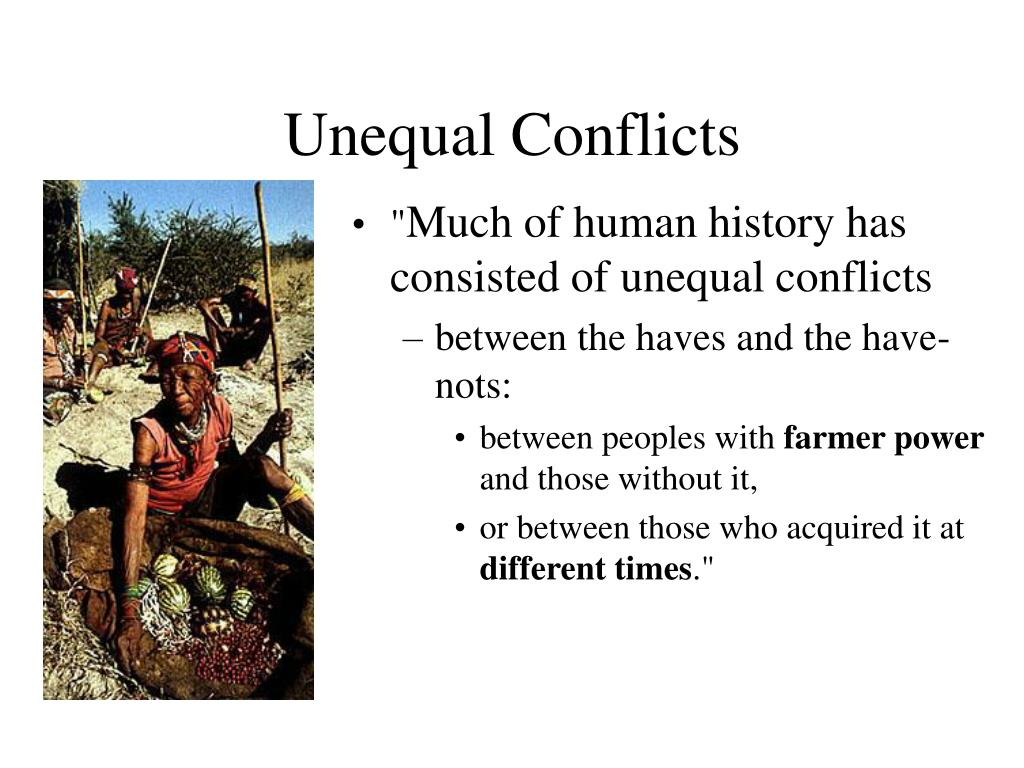 Unequal Conflicts