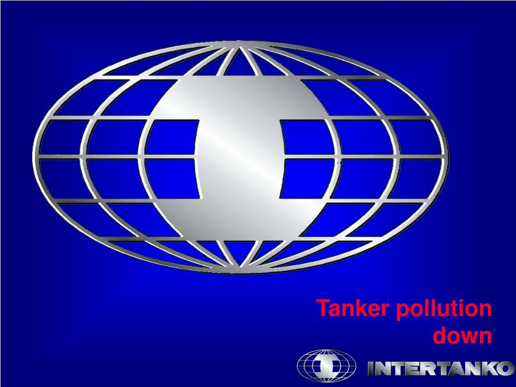 Tanker pollution down