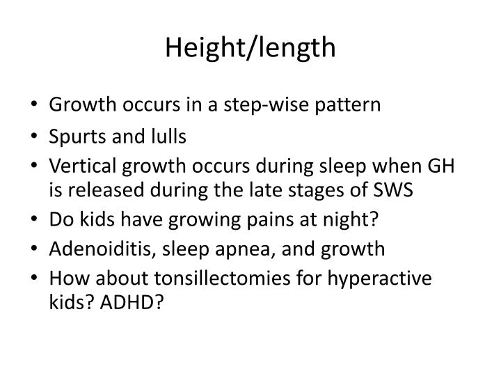 Height/length
