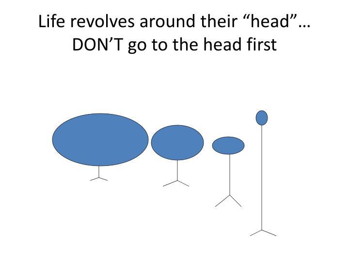 "Life revolves around their ""head"