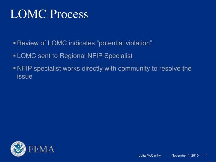 LOMC Process