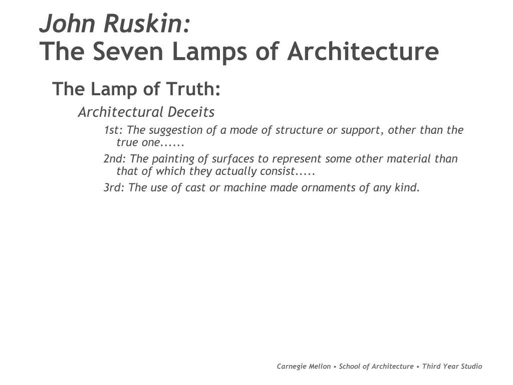 John Ruskin: