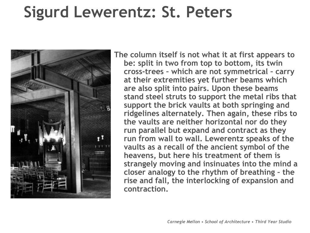 Sigurd Lewerentz: St. Peters