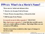 pp9 aa what s in a movie s name