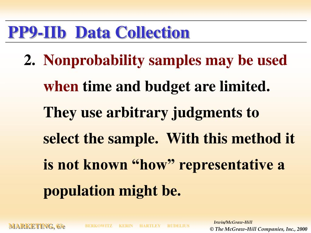 PP9-IIb  Data Collection