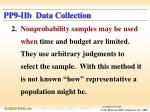 pp9 iib data collection