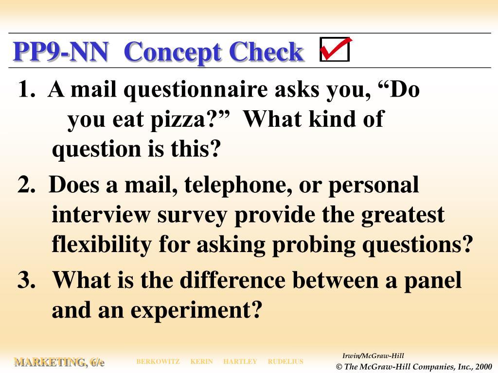 PP9-NN  Concept Check
