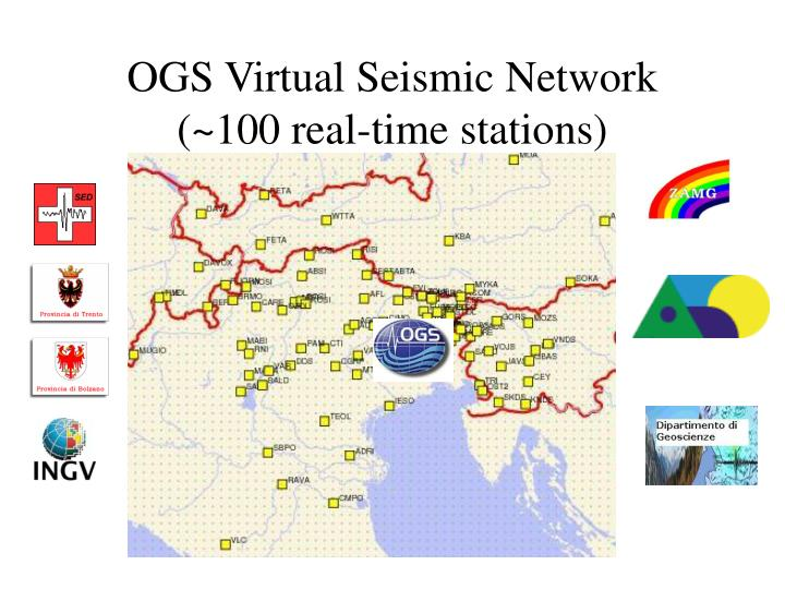 OGS Virtual Seismic Network