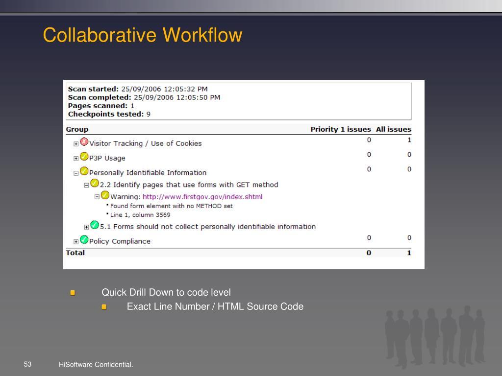 Collaborative Workflow