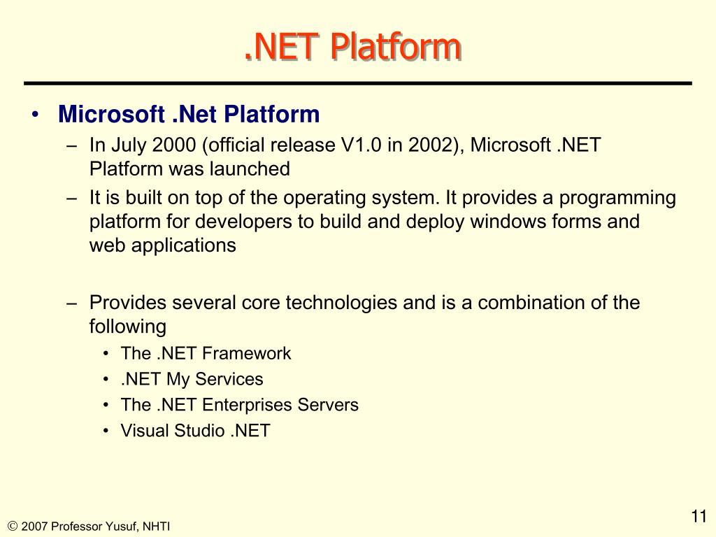 .NET Platform