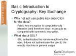 basic introduction to cryptography key exchange56