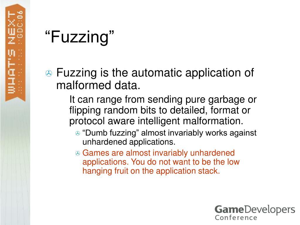 """""""Fuzzing"""""""