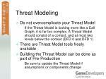 threat modeling76