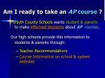am i ready to take an ap course13