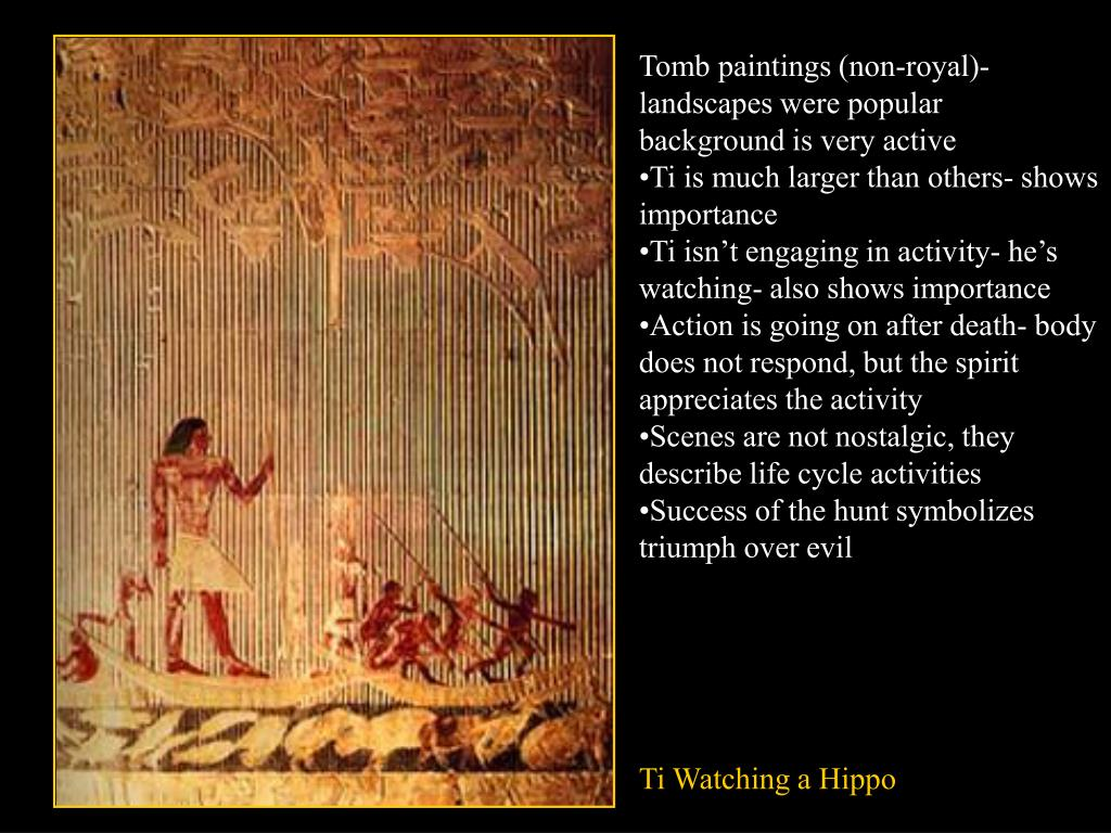 Tomb paintings (non-royal)- landscapes were popular