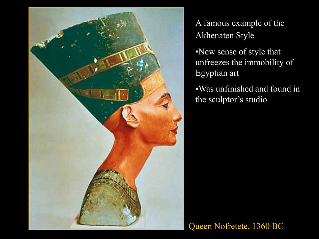 A famous example of the Akhenaten Style