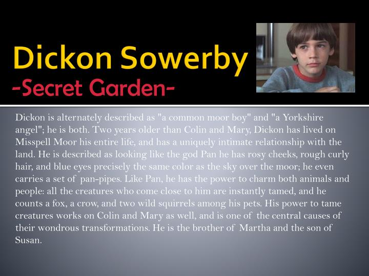 Dickon Sowerby