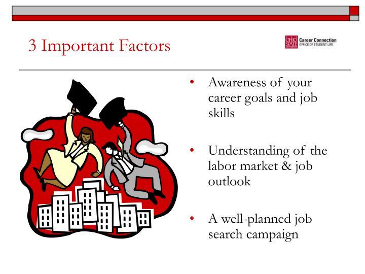 3 Important Factors