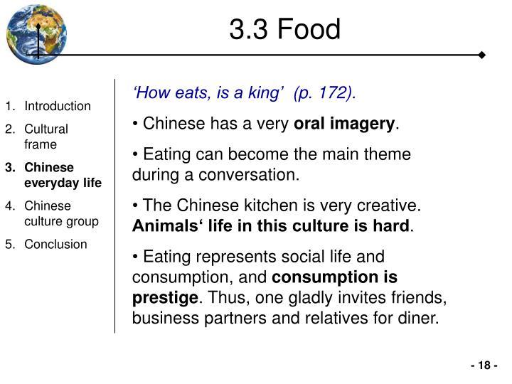 3.3 Food