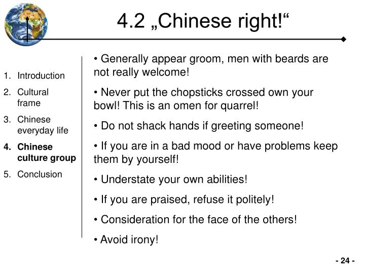 "4.2 ""Chinese right!"""