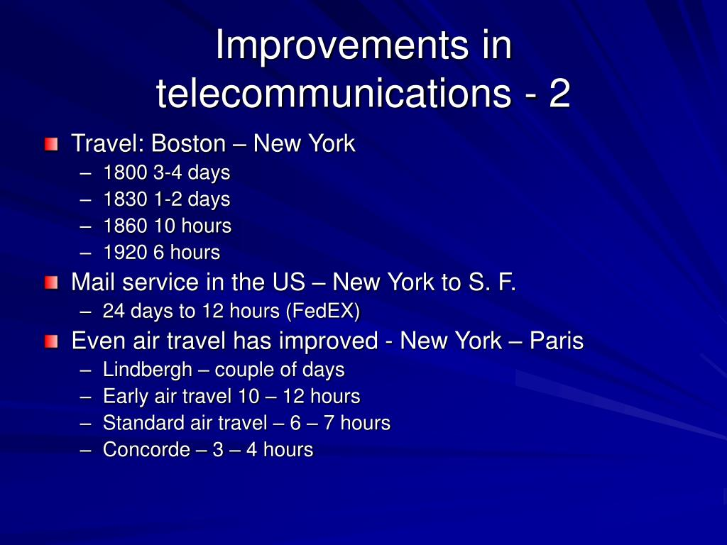 Improvements in telecommunications - 2