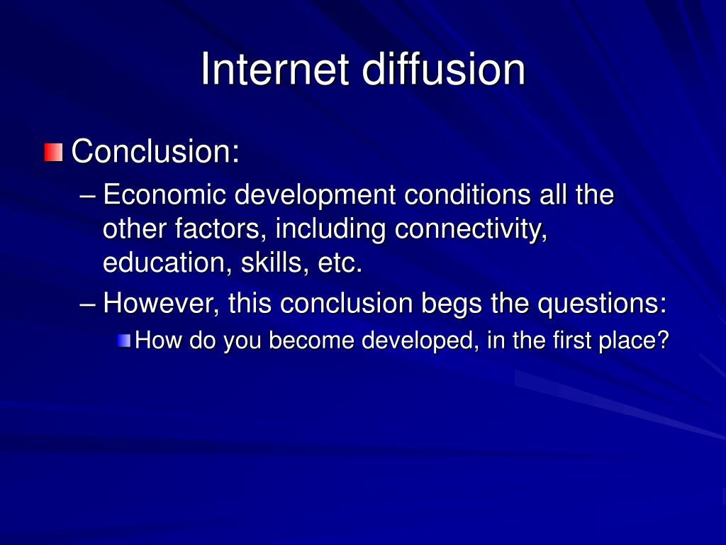Internet diffusion