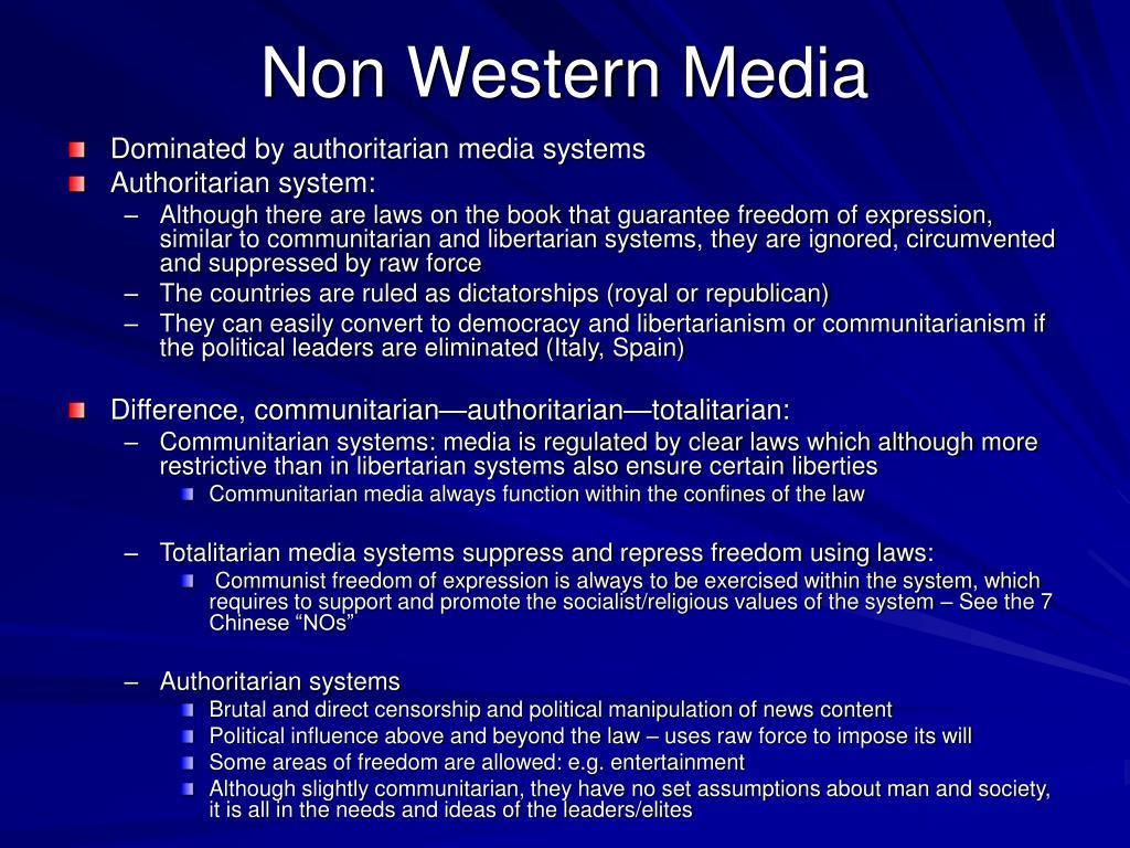 Non Western Media