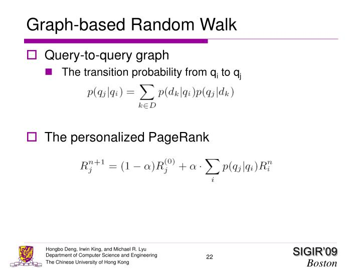 Graph-based Random Walk