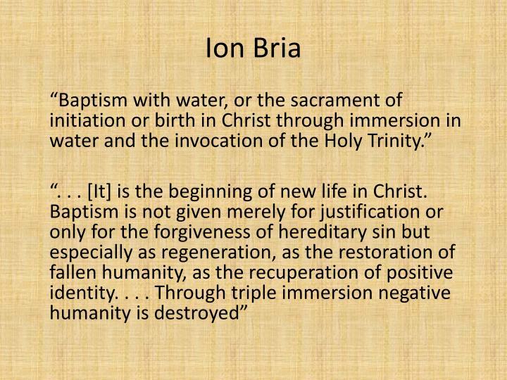 Ion Bria