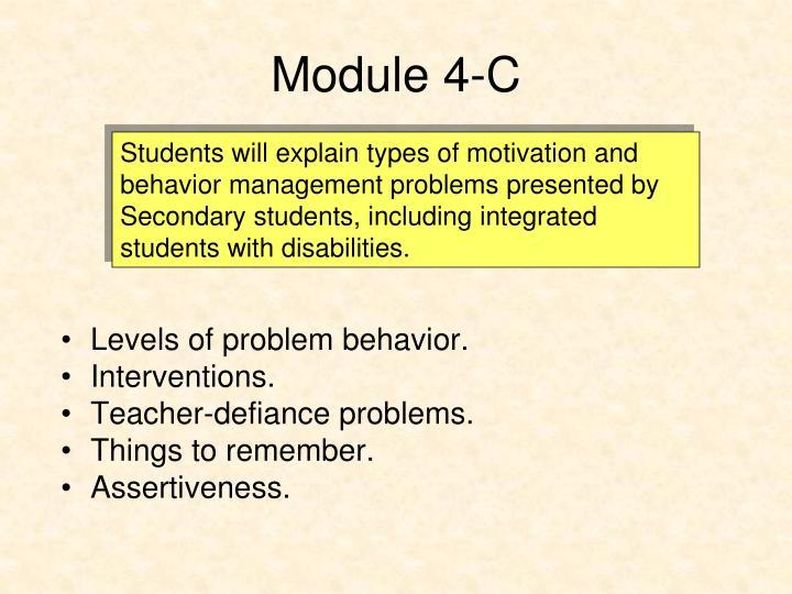 Module 4-C