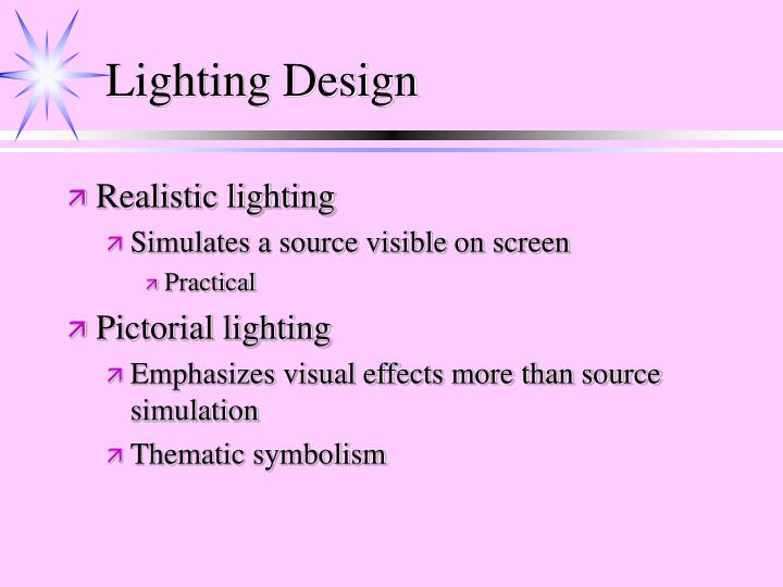 Lighting Design