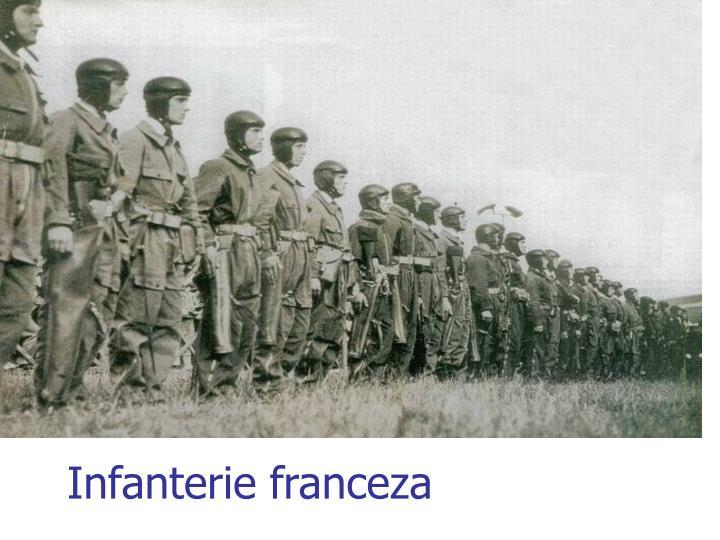 Infanterie franceza