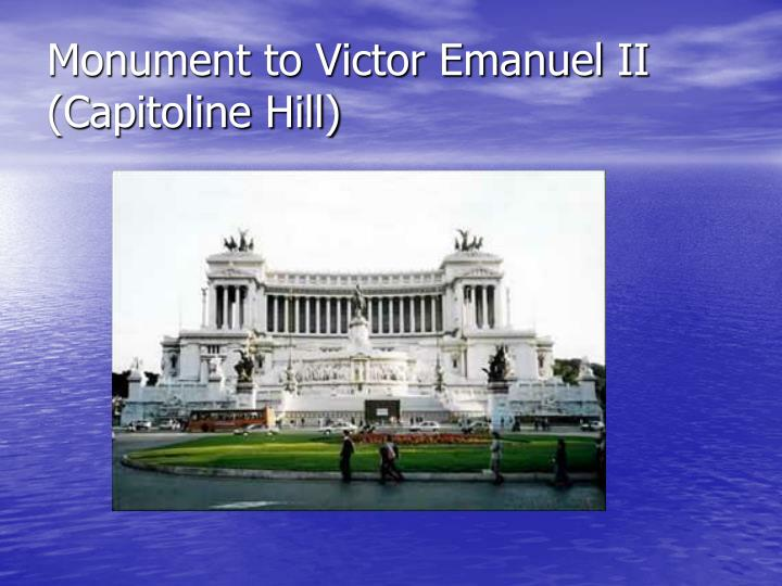 Monument to Victor Emanuel II