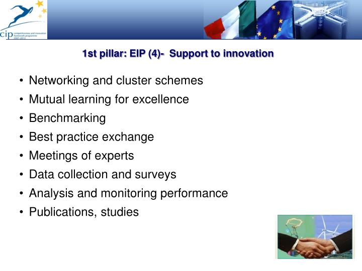 1st pillar: