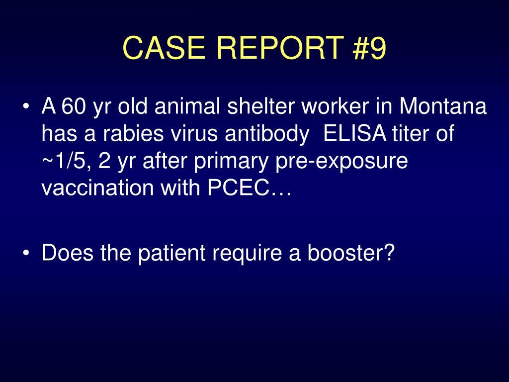 CASE REPORT #9