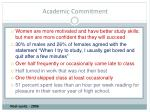 academic commitment